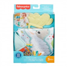 FISHER PRICE NEWBORN TEETHE AND RATTLE Гризалка Кактус GJD38