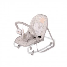 LORELLI CLASSIC Шезлонг с гриф ROCK STAR LIGHT GREY ELEPHANT 1011013/2048