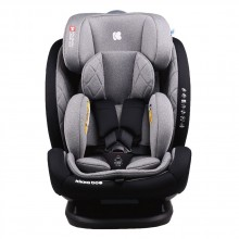 KIKKABOO Стол за кола 0-36 кг. MULTISTAGE ISOFIX DARK GREY 31002070036