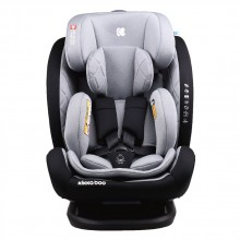 KIKKABOO Стол за кола 0-36 кг. MULTISTAGE ISOFIX LIGHT GREY 31002070038