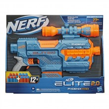 NERF N-STRIKE ELITE  2.0 бластер PHOENIX CS-6 с 12 стрели E9961