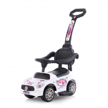 CHIPOLINO Ride-on с дръжка ЕДНОРОГ БЯЛ ROCUN02001WH