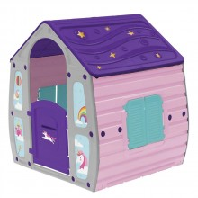 STARPLAST Градинска къща Unicorn Magical House 23561