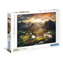 CLEMENTONI 2000ч. Пъзел High Quality Collection View of China 32564