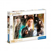 CLEMENTONI 500ч. Пъзел High Quality Collection Harry Potter 35083