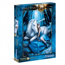 CLEMENTONI 1000ч. Пъзел Anne Stokes Collection Blue Moon 39462