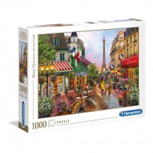 CLEMENTONI 1000ч. Пъзел High Quality Collection Flowers in Paris 39482