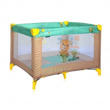 LORELLI CLASSIC Кошара за игра PLAY BEIGE&GREEN HONEY BEAR 1008005/1947