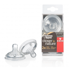 TOMMEE TIPPEE Биберон - 4 капки EASI VENT ЗВЕЗДА 42214271