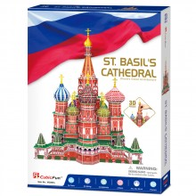 CubicFun 3D Пъзел St.BASIL'S CATHEDRAL MC093h