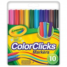 Crayola Цветни маркери COLOR CLICKS