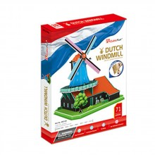 CubicFun 3D Пъзел DUTCH WINDMILL MC219h