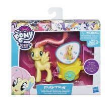 MY LITTLE PONY Мини фигурка в колесница B9159