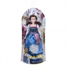 DISNEY PRINCESS Кукла със синя рокля BELLE BEAUTY AND THE BEAST B9164