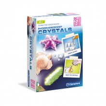 CLEMENTONI Комплект FOSFORESCENT CRYSTALS SCIENCE PLAY 61277