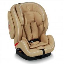 LORELLI PREMIUM Стол за кола 9-36 кг MARS+SPS ISOFIX LEATHER BEIGE 1007107/1768