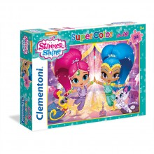 CLEMENTONI Пъзел MAXI SHIMMER AND SHINE 24486