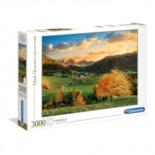 CLEMENTONI 3000ч. Пъзел High Quality Collection The Alps 33545