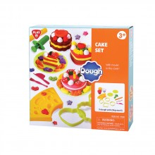 PlayGo DOUGH Пластелин ТОРТИ CAKE SET 8586