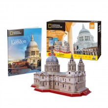 Cubic Fun Пъзел 3D National Geographic St Paul's Cathedral 107ч. DS0991h