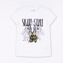 Coccodrillo Тениска къс ръкав EVERYDAY GIRL skate 92-164 Z20143215EVG